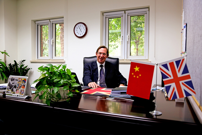 Master of Wellington College International Tianjin